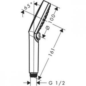 Douchette Crometta 100 Vario - HANSGROHE