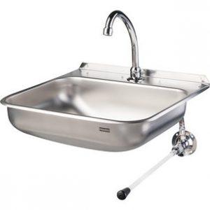 Lave-mains à commande fémorale - FRANKE