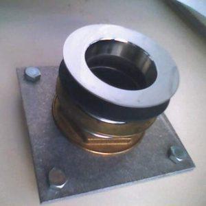 Adaptateur pour bonde d'evier de cuisine en 60mm pour évier en pierre ou en grés