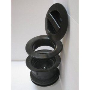 Adaptateur de bonde 60 mm pour broyeur d'évier de cuisine.