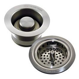 Bonde d'évier à panier en 90mm pour broyeur d'évier de cuisine.
