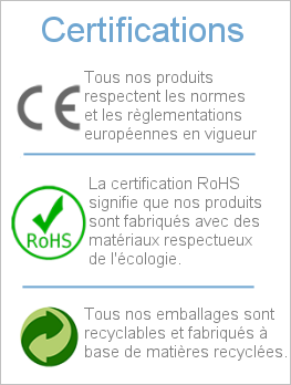 certifications osmoseur domestique compact