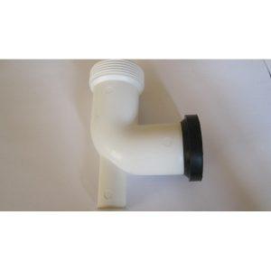 Coude + joint d'évacuation sous évier 40 mm pour broyeur d'évier de cuisine
