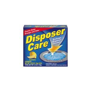 Nettoyant dégraissant parfum citron pour broyeur d'évier de cuisine.